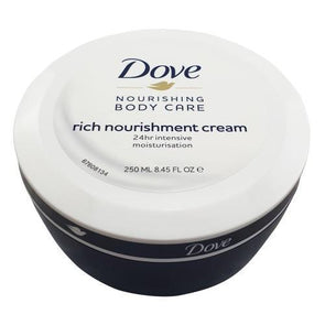 Dove Rich Nourishment Cream 24hr Intensive 250ml - Case of 6