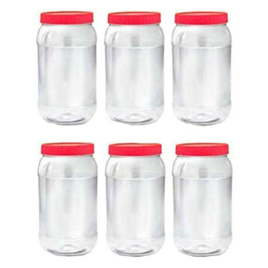 Sunpet Food Storage Containers Round 1000ml - Case of 6