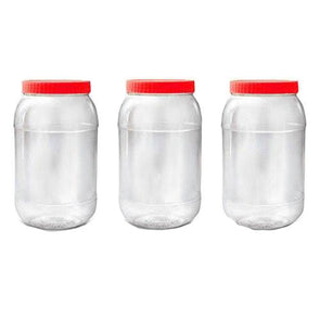Sunpet Food Storage Containers Round 4000ml - Case of 3
