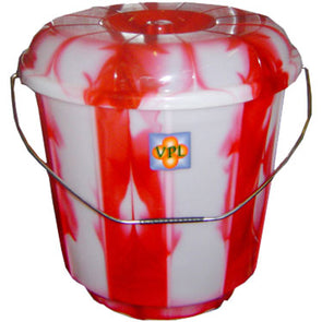 VPL Bucket with Lid 7L Double Colour
