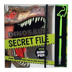 Dinosaur Secret File Facts & Activities with Dino Pen