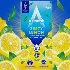 Astonish Concentrated Disinfectant Zesty Lemon 500ml