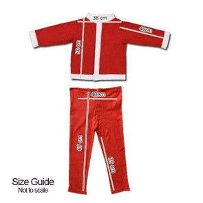 Children Santa Suit