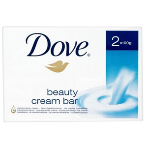 Dove Soap Original Beauty Cream Bar 2 x 100g Twin pack