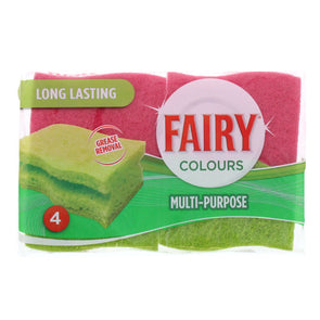 Fairy Multi Purpose Scourer 4 Pack - Case of 12