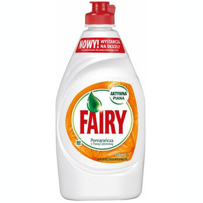 Fairy Washing Up Liquid Orange & Lemon Grass 450ml