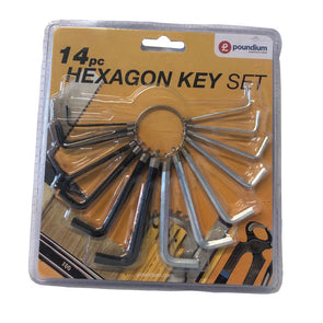 Hexagon Key Set 14pc