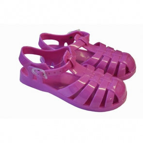 Infants Jelly Shoes with Side Buckle 5-10 UK
