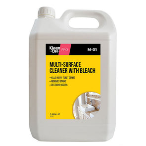 Kleen Off Pro Multi-Surface Cleaner with Bleach 5 Litre