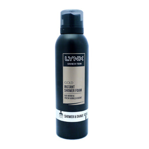 Lynx Shower Foam Gold 200ml