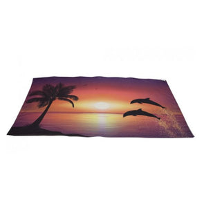 Super Soft Dolphin Design Beach Towel