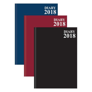 A4 Page a Day Diary 2018