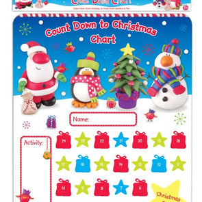 Activity Xmas Count Down Chart