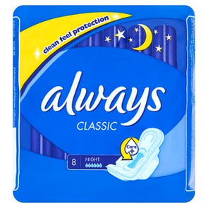 Always Classic Night Sanitary Towels