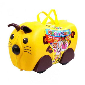 Childs suitcase on wheels animal design