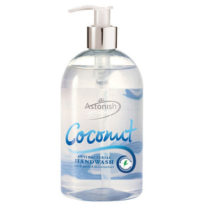 Astonish Handwash Coconut Antibacterial 500ml