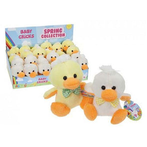 "2 Assorted Colours 4"" Baby Chick"