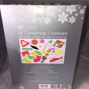 12 Pack Silver & White Crackers