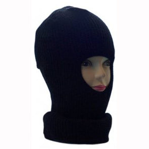 Knitted Black Balaclava