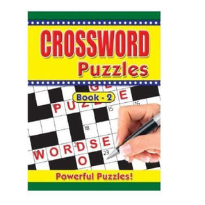 Adult Crossword Book