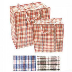 Medium Shopping Bag PVC Check