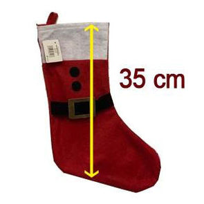 Christmas Santa Design Stocking Size Guide