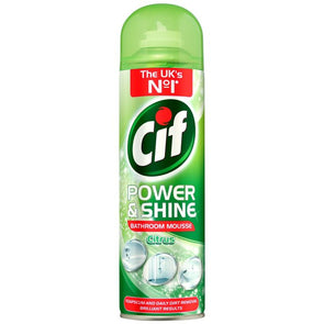 Cif Power & Shine Bathroom Mousse Citrus 500ml