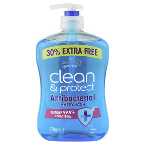 Astonish Antibacterial Handwash Clean & Protect 650ml