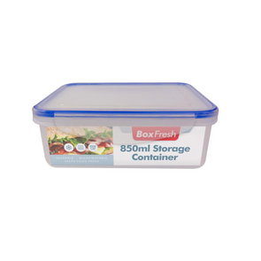 Reusable Rectangular Food Storage Container 850ml