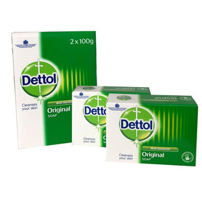Dettol Antibacterial Twin Pack Soap 100g