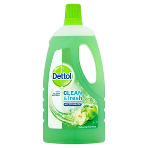 Dettol Clean And Fresh Multi Purpose Cleaner Refreshing Green Apple 1 Litre