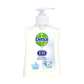 Dettol Camomile With E45 Handwash 250ml