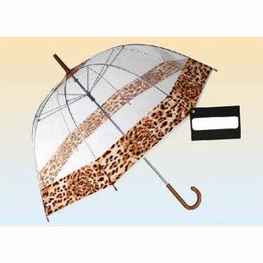 Dome leopard umbrella