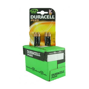 Duracell PLUS AAA with 4 batteries on each card