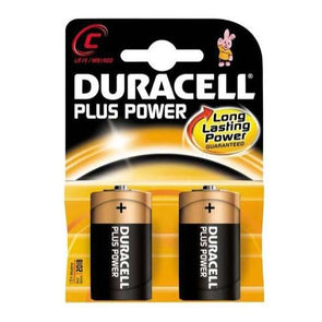 Duracell Plus C Batteries