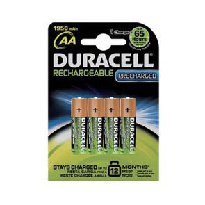 Duracell AA 4 pack Rechargeable