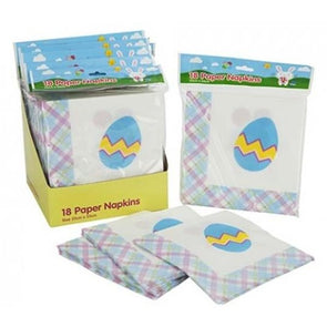 A Pack of 18 Easter Napkins