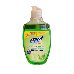 Ezel Antibacterial Hand Wash with Moisturizers Aloe Vera 400ml