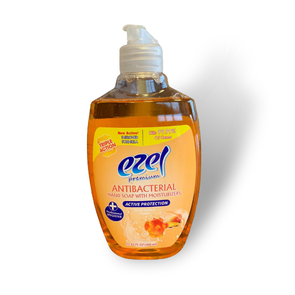 Ezel Antibacterial Hand Wash Soap with Moisturizers Active Protection 400ml