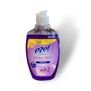 Ezel Antibacterial Hand Soap with Moisturizers Sensitive 400ml