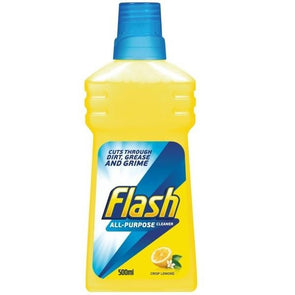 Flash All Purpose Liquid Lemon Cleaner 500ml
