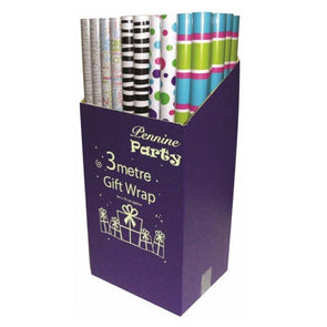 3 metre Everyday Adult Gift Wrap Roll
