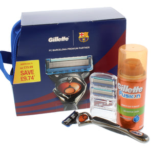 5 Piece Gillette Fushion ProGlide Barcelona
