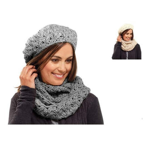 Ladies Star Knit Snood