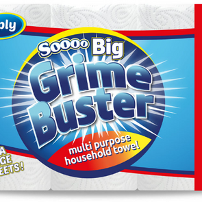 Soooo Big Grime Buster Kitchen Towel 3 Pack