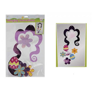 Hanging Swirl Easter Decoration 51cm