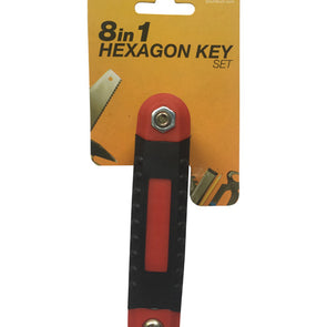 8pc Hexagon Key Wrench