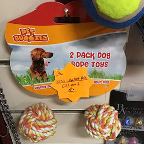 Dog Rope Toys 2 pack - Case of 6