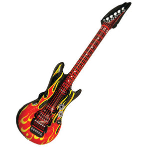 Inflatable 106cm Flame Design Guitar