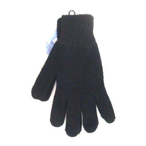 Pair of Black Mens acrylic gloves